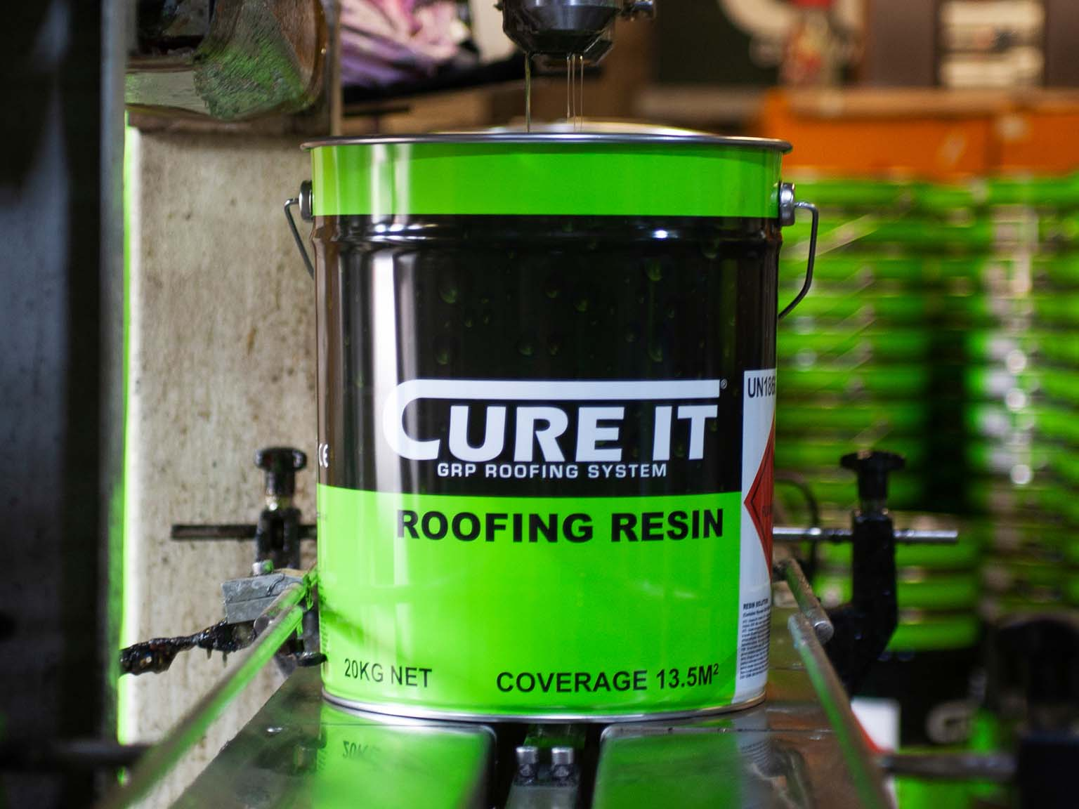 Manufacturing GRP Roofing Systems