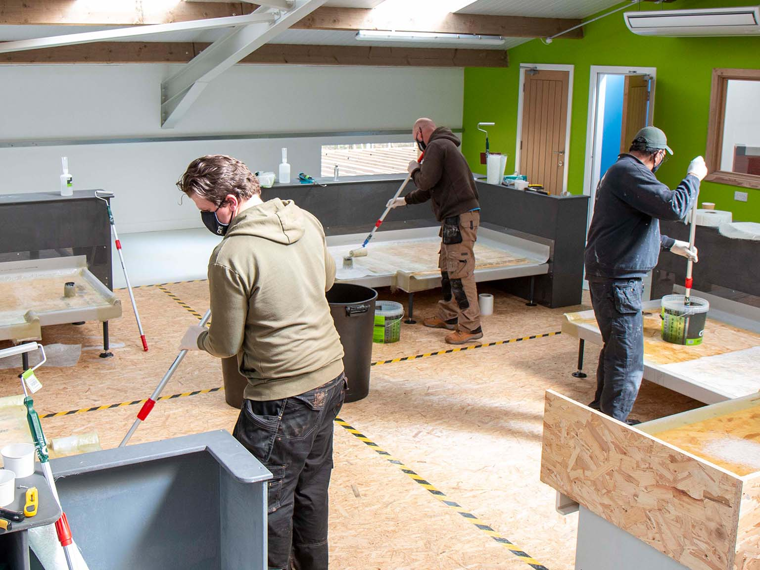 GRP Roofing Training Course